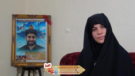 همسر شهید مدافع حرم: شهادت محمود را حس می کردم  زمینی نیست